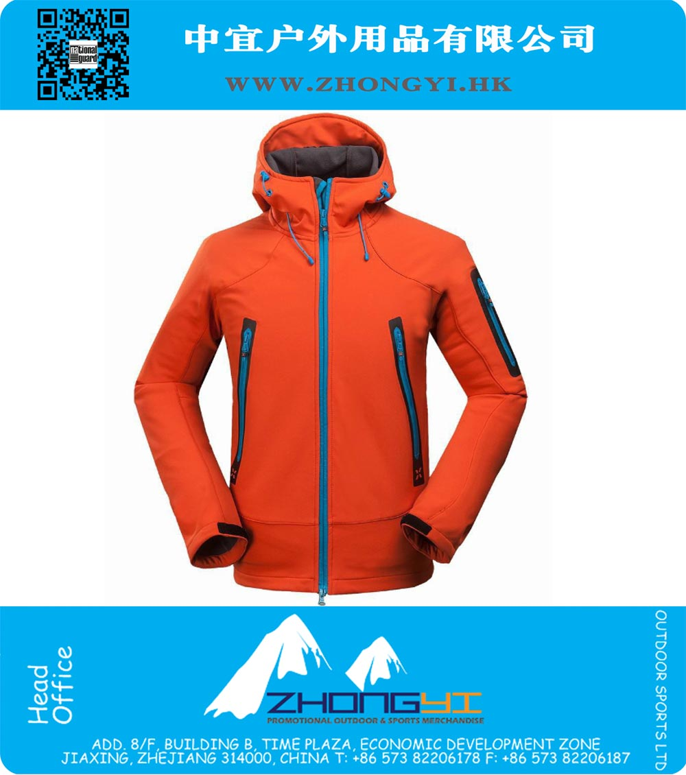 76ddb3a34191 Soft Shell Jacket. Outdoor Softshell Jacket Men Hiking Jacket Winter Coat  Waterproof ...