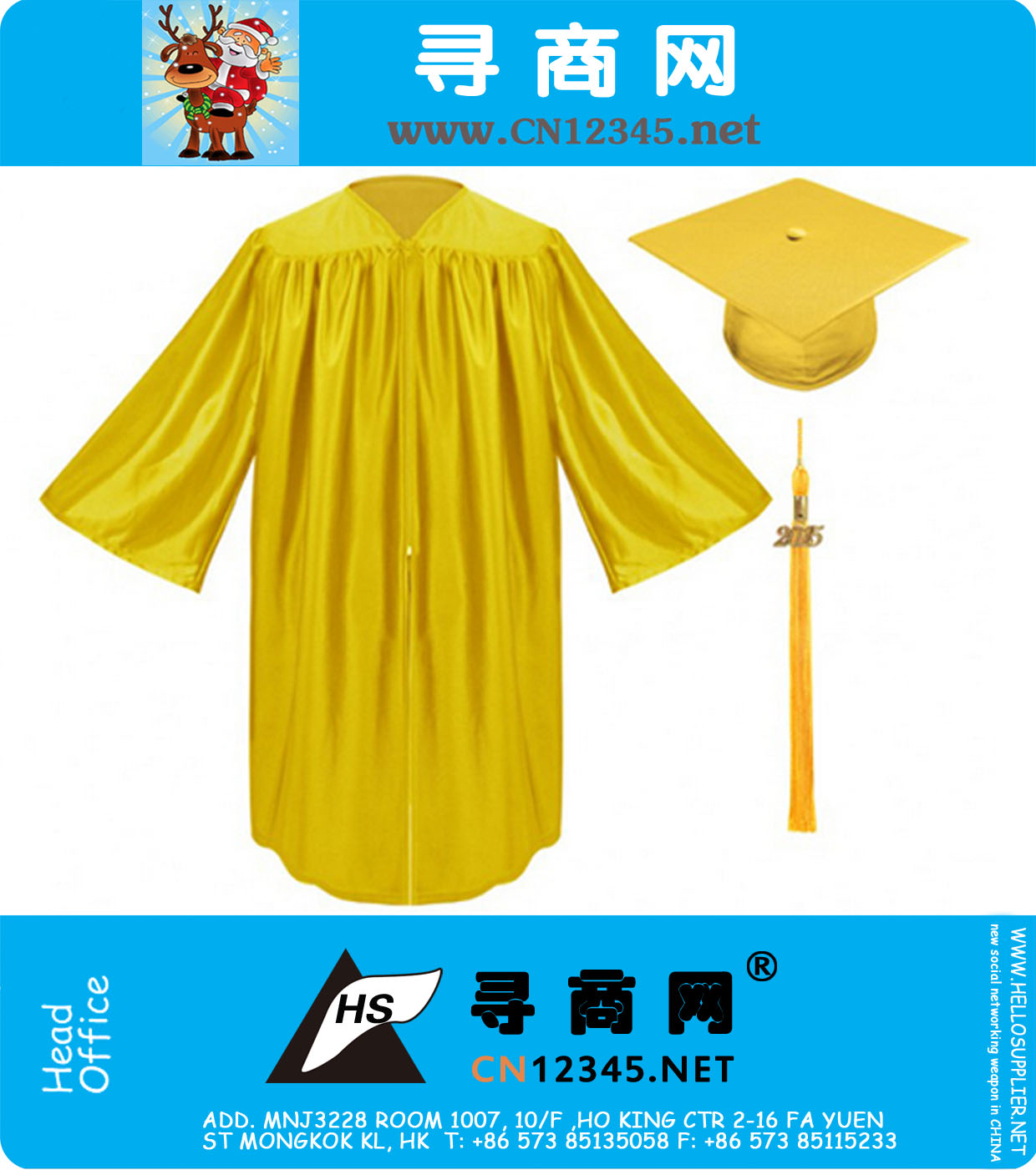 Shiny Econmoy Gold Preschool Kindergarten Graduation Gowns Caps ...
