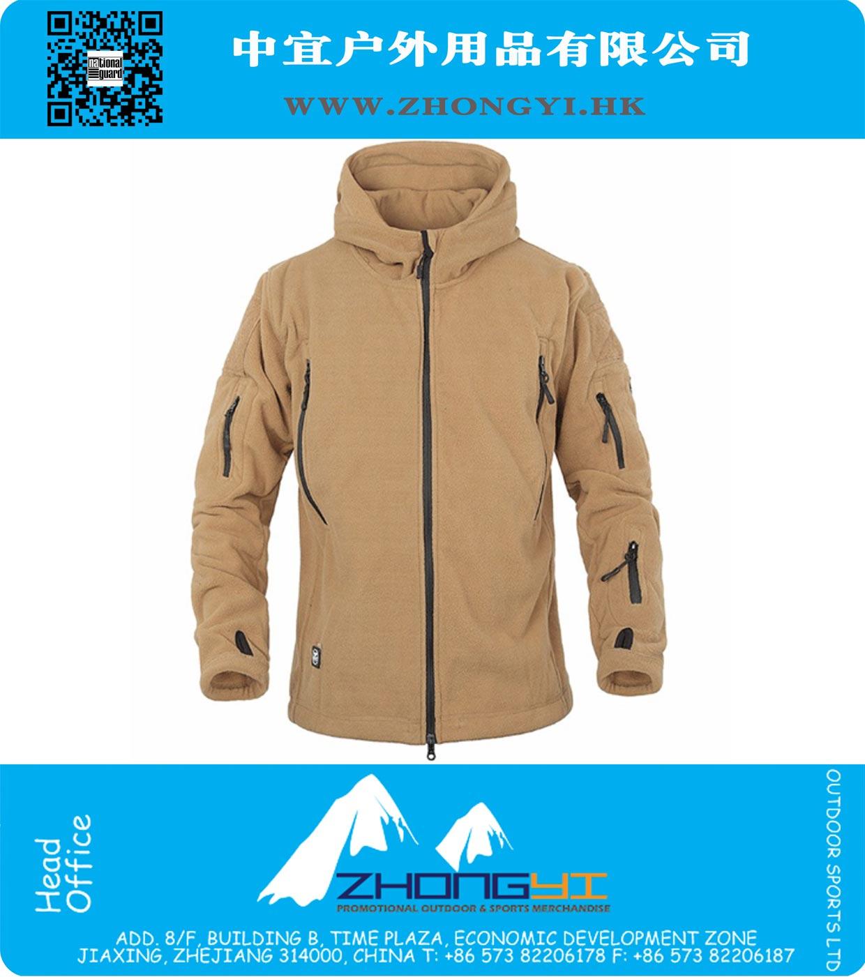 d4f346ad43526 Military Fleece Jacket. Winter Tactical Jacket Military Uniform Outdoor  Soft Shell Fleece Hoody Jacket Men Thermal Hunting Clothing ...