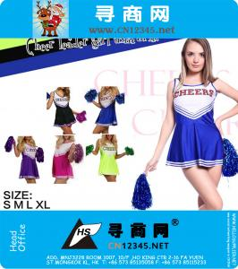 High School Sport Team Cheerleader Girl unifrom kostuum Outfit