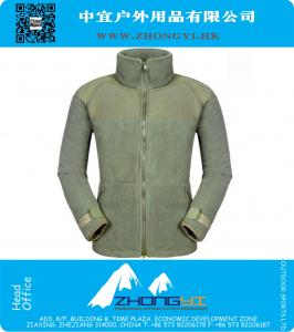 Outdoor thicken fleece tactical jacket SWAT training camping thermal windproof polartec outerwear coats 400gsm fleece